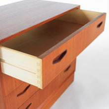Load image into Gallery viewer, Mid Century Danish Modern Omann Jun Møbelfabrik Dresser Chest in Teak Vintage