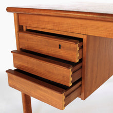 Load image into Gallery viewer, Mid Century Danish Modern Teak Slide Top Desk by Peter Løvig Nielsen