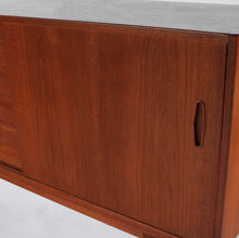 Mid Century Teak Sideboard Credenza by Nils Jonsson for Troeds of Sweden