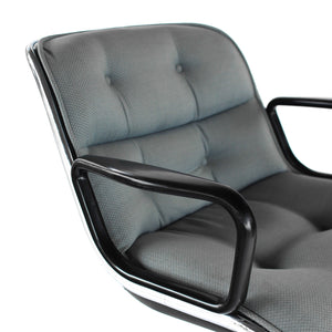 Vintage Knoll Office Chair by Charles Pollock Mid Century Modern
