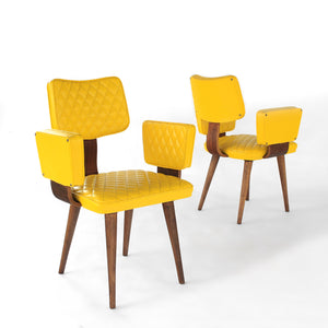 RARE Thonet Bentwood Armchair Set of two (2) Mid Century Modern