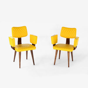 Thonet Bentwood Armchair Set of two (2) Mid Century Modern