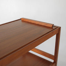 Load image into Gallery viewer, Danish Teak Serving Cart / Bar Cart