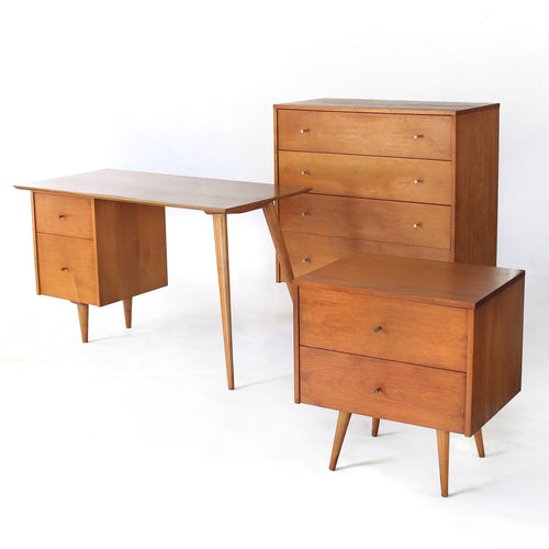 Paul McCobb Collection Dresser, Nightstand, and Desk