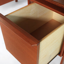 Load image into Gallery viewer, Stunning Mid Century Danish Modern Teak Floating Top Desk - Gasvig
