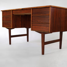 Load image into Gallery viewer, Vintage Danish Rosewood Writing Desk