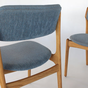 Erik Buch Model 49 Dining Chairs in Oak - Set of 4