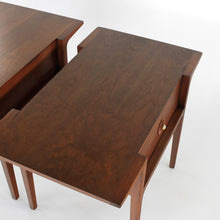 Load image into Gallery viewer, Rare John Van Koert for Drexel Counterpoint Side Tables / Nightstands