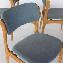Load image into Gallery viewer, Erik Buch Model 49 Dining Chairs in Oak - Set of 4