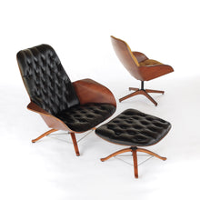 Load image into Gallery viewer, RARE Mr and Mrs Chair by George Mulhauser for Plycraft 1st Editions - Mid Century Modern Lounge Chairs
