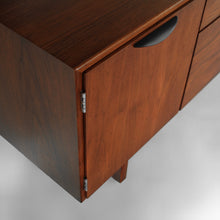 Load image into Gallery viewer, Stunning Jens Risom Petite Walnut Credenza