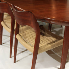 Load image into Gallery viewer, STUNNING Mid Century Niels Møller and VV Møbler Dining Set