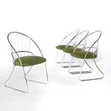 Load image into Gallery viewer, Mid Century Modern Chrome Dining Chairs by Daystrom