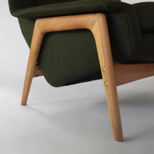 Load image into Gallery viewer, Quintessential Folke Ohlsson Lounge Chair for Dux with Ottoman