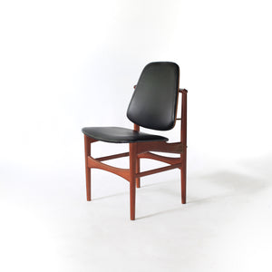 Hovmand Olsen Sculptural Teak Chair