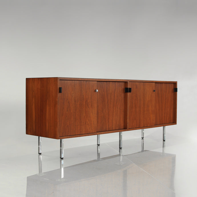Vintage Florence Knoll Credenza Cabinet Mid Century Modern
