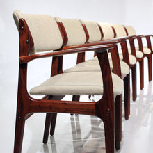 Load image into Gallery viewer, Erik Buch Rosewood Model 50 Dining Chairs - Set of 6