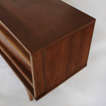 Load image into Gallery viewer, Long Low Bowed Front Credenza by Young Mfg