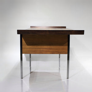 RARE Bleached Rosewood Executive Desk by Harvey Probber