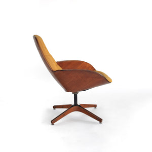 1st Edition 'Mrs. Chair' Lounge Chair by George Mulhauser for Plycraft