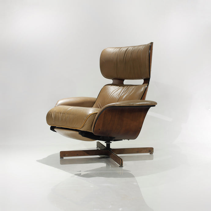 Mr. Chair Lounge Chair Recliner by George Mulhauser for Plycraft
