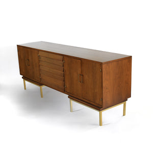 Merton Gershun for American of Martinsville in Walnut and Brass