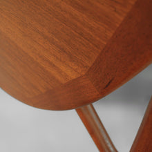 Load image into Gallery viewer, Exceptional Niels Koefoed Danish Teak Elliptical Gate Leg Dining Table