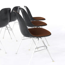 Load image into Gallery viewer, Set of 6 Eames for Herman Miller Upholstered Shell Chairs