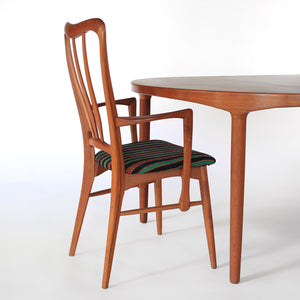 Danish Teak Dining Set by Harry Østergaard and Niels Koefoed - Extension Table and 6 Chairs