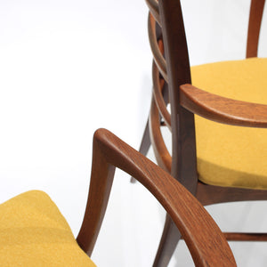 Mid-Century Danish 'Lis' Dining Chairs by Niels Koefoed- Set of 6
