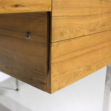 Load image into Gallery viewer, RARE Bleached Rosewood Executive Desk by Harvey Probber