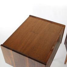 Load image into Gallery viewer, Exceptional John Keal for Brown Saltman Nightstands - A Pair