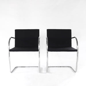 Vintage Mies van der Rohe Brno Chairs for Knoll Mid Century Modern
