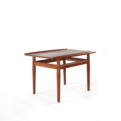 Grete Jalk Teak Side Table Glostrup Møbelfabrik