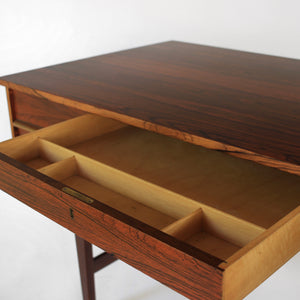 Vintage Danish Rosewood Writing Desk