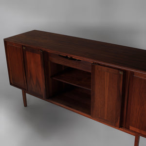 Mid Century Walnut Credenza by Jack Cartwright for Founders