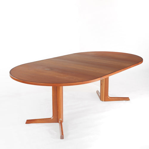 Niels Møller for Gudme Danish Teak Extension Dining Table