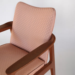 Danish Sigvard Bernadotte for France and Son Sculpted Teak Lounge Chair
