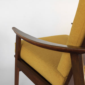 Mid Century Modern Lounge Chairs - a Pair