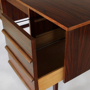 Norwegian Rosewood Writing Desk by Brødrene Blindheim Møbelfabrikk