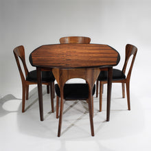 Load image into Gallery viewer, RARE Rosewood 'Peter' Chairs by Niels Koefoed and Rosewood Table by Rastad Relling