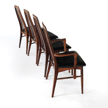 Load image into Gallery viewer, Stunning Rosewood 'Eva' Dining Chairs by Niels Koefoed Vintage Mid Century Danish