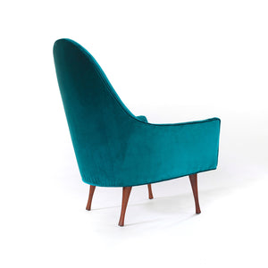 Paul McCobb Lounge Chair Symmetric Group for Widdicomb