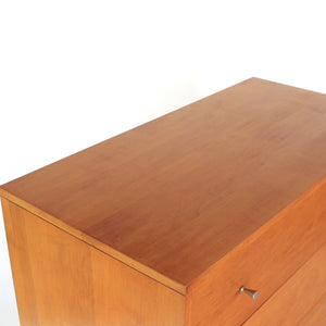 Paul McCobb Planner Group Tall Dresser by Winchendon in Solid Maple