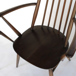 RARE Mid Century Early Ercol Goldsmith Windsor Dining Chairs - A Pair (Set of 2)