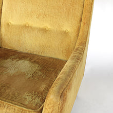 Load image into Gallery viewer, Paul McCobb High Back Lounge Chair for Widdicomb in Yellow / Gold
