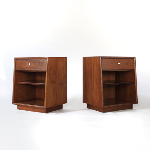 Kipp Stewart for Drexel Declaration Nightstands - a pair (set of 2)