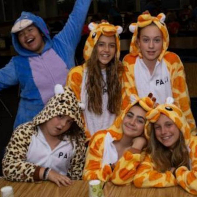 Animal Onesie PJ's
