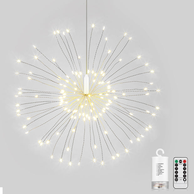 LEDs Hanging Starburst Light with Remote Control