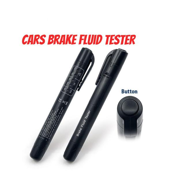 2018 Hot Brand Cars Brake Fluid Tester ,Diagnostic 5 Leds  Testing Tools